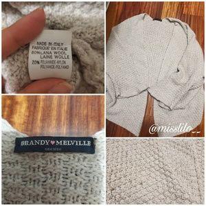 Brandy Melville Cardigan Beige/Tan